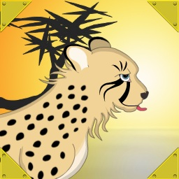 create a cheetah